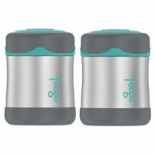 Thermos Foogo Vacuum Insulated Stainless Steel 10-Ounce Food Jar (2-Pack)