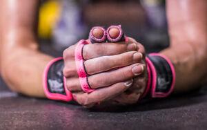 JerkFit Nubs | Red | CrossFit Hook Grip Thumb Protection
