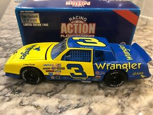 Action 1985 Dale Earnhardt #3 Wrangler Chevy Monte Carlo 1/24  1 of 6000