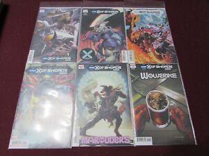 X-Men Comic Lot of 24 NM+ 9.4 1st Print!!! *** Swords of X Variants****