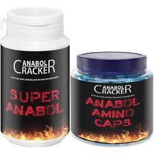 ANABOL AMINO CAPS - 350 Kapseln Aminosäuren + Super Anabol / Muskelaufbau Paket