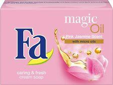"3 x Bar Soap FA"" Magic Oil Pink Jasmin "" Caring Cream Soap  New from Germany"