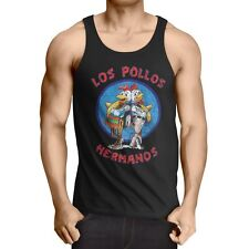 Los pollos caballero Tank Top Breaking hermanos Heisenberg Walter Bad White Chicken