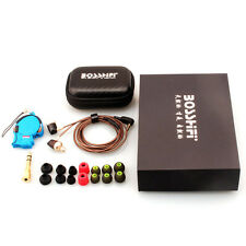 BOSSHIFI B3 Dynamic Armature 2-Unit Earbuds In-Ear Earphone DIY Wooden Headphone