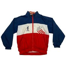Atlanta 96 Olympics Stars & Stripes Starter Jacket | Vintage 90s Sportswear VTG