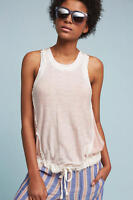 """NWT Anthropologie Rosewater Tank Top By Lilka Sz. Large """"Pink"""""""