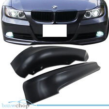 STOCK IN USA ▶ Unpainted For BMW 3-series E90 4D Front Bumper Splitter 07 09