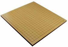 Premium Quality Beechwood Veneer Go Game Board Only Double Side 19x19 13x13 Grid