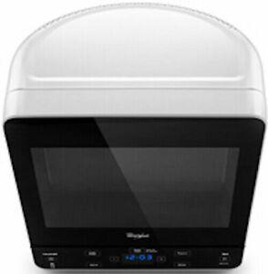 NEW Whirlpool WMC20005YW 0.5 Cu. Ft. White Countertop Small Corner Microwave