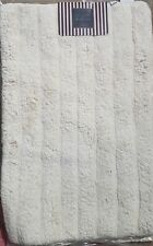 Northpoint Striped Bath Mats 19 x 31 In. White