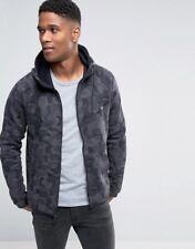 SIZE XXL Nike Tech Fleece Camo Wind Runner Jacket BLACK CAMO (835866 021)