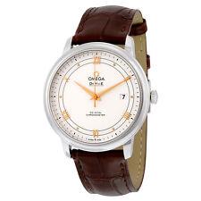 Omega De Ville Prestige Silver Dial Mens Watch 424.13.40.20.02.002