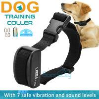 Dog Shock Collar Training Bark E-Collar Electric Collar For Small Large Big Dogs