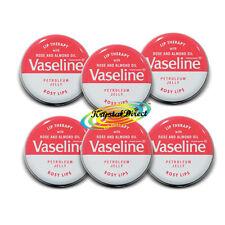 6x Vaselina Lip Terapia Rosy Labios Rosa Tin pot 20g
