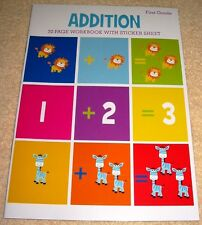 Addition First Grade Workbook (2016) Homeschool Daycare New Clever Factory