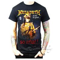 Megadeth So Far, So Good… So What! Tour Men's Crew Neck Black T-Shirt Tour Tee