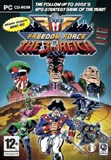 Freedom Force vs. the Third Reich, PC DVD-Rom Game.