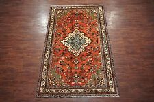 $1 NR Antique 6X11 Hamedan Malayer Persian Gallery Runner Hand-Knotted Wool Rug