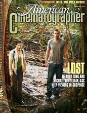 AMERICAN CINEMATOGRAPHER MAGAZINE - ABC LOST COVER - ONCE UPON A MATTRESS