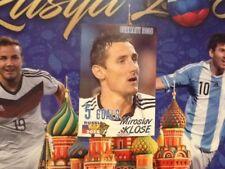489 Miroslav Klose Alemania schoolshop Copa Del Mundo Rusia 2018 Pegatina Bremen