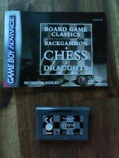 Board Game Classics GBA EUR Original Sehr guter Zustand