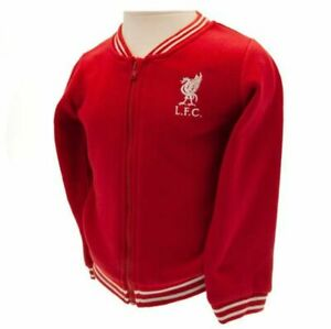Liverpool FC Baby Shankly Jacket Retro Design ( 5 Sizes 3 - 24 months ) Official