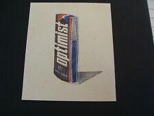 Vintage commercial art: BRITISH STERLING-spray deodorant Pen OPTIMIST #1