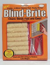 Venetian Blind Brite Cleaner Duster Dust Dusting Cleaning Tool Brush Made In USA
