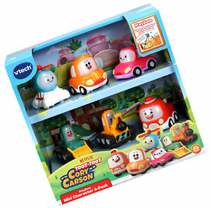 VTech Toot-Toot Drivers Cory Carson Mini Vehicle Pack, Toy Kids Car With Sounds