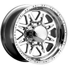 "4-NEW 17"" Inch Raceline 888 Renegade 8 17x9 8x6.5"" -12mm Polished Wheels Rims"