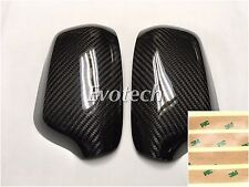 Dry Real Carbon Fiber Side Mirror Covers Cover 04-09 FOR Mazdaspeed3 Mazda 3 MPS