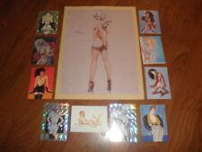 "OLIVIA DE BERARDINIS PIN-UP """"Original Print +Cards"