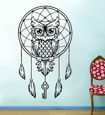 Dreamcatcher Owl Wall Decal Wallpaper Wall Decoration 50 x 88 CM WALL PICTURE