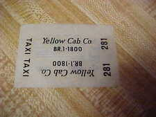 JO-HAN,,,ORIGINAL DECALS,,,,FROM THE ARCHIVES,,,,,YELLOW CAB-TAXI