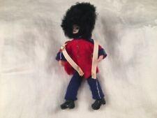 Vintage Anne Beate Design Pixie Doll Lead Feet Yarn Wrap Denmark British Soldier