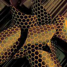 PCB Chocolate Transfer Sheet, Honeycomb Design - Pack of 17