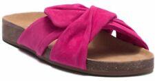 NEW Vince Camuto Berulia Suede Slide Sandal, Pink, Size Women 10