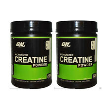 2X NEW OPTIMUM NUTRITION MICROZINED CREATINE POWDER UNFLAVORED MONOHYDRATE 1.2kg