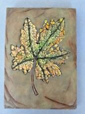 A Nice Resin Wall Hanging of a Leaf