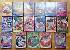 Lot of 17 INUYASHA Anime DVDs - new, plastic wrapped