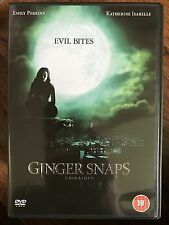 Katherine Isabelle GINGER SNAPS UNLEASHED ~ Part 2 Female Werewolf Horror UK DVD