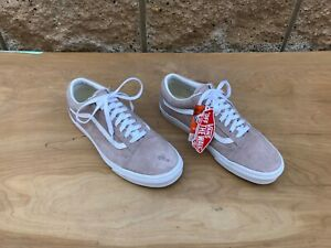 Vans Old Skool Scotchgard Sneaker, Pig Suede / Shadow Grey, 9.5 Men / 11 Women