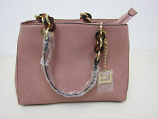 MFK Mia K Farrow Designed Shoulder Handbag - Pink - New