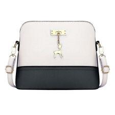 Ladies Women Messenger Crossbody Satchel Leather Shoulder Bag Tote Purse Handbag