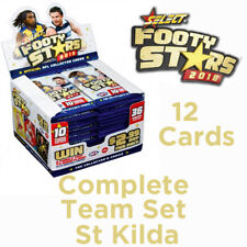 2018 AFL SELECT FOOTY STARS CARDS COMPLETE TEAM SET - ST KILDA SAINTS