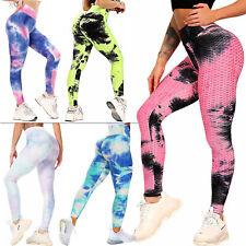 Women Anti-Cellulite Yoga Pants Push Up TikTok Leggings Honeycomb Fitness Gym