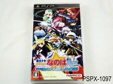 Magical Girl Lyrical Nanoha A's The Battle of Aces PSP Japanese Import US Seller