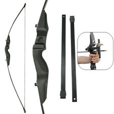 52'' Straight Bow Archery Takedown 30/40lbs Right Hand Traditional Hunting Train