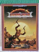 AD&D Advanced Dungeons and Dragons 2nd Ed Dark Sun Campaign Box Set WATER DAMAGE