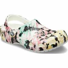 Crocs Classic Tie Dye Mania Unisex Clogs in Various Colours and Sizes